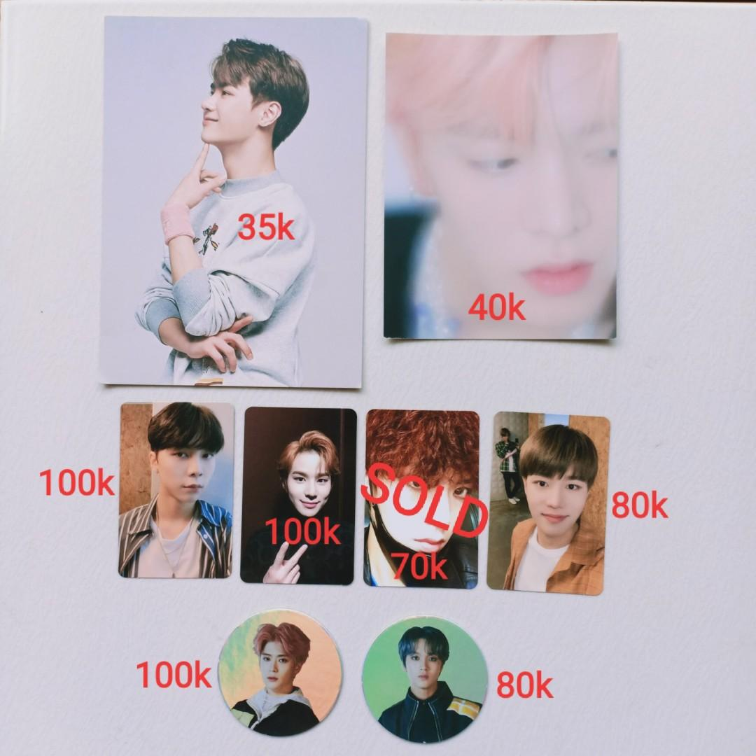 OFFICIAL PHOTOCARD / POSTCARD NCT JAEHYUN HAECHAN TAEIL JOHNNY JUNGWOO / KUN / YUTA FROM REGULAR IRREGULAR EMPATHY SUPERHUMAN