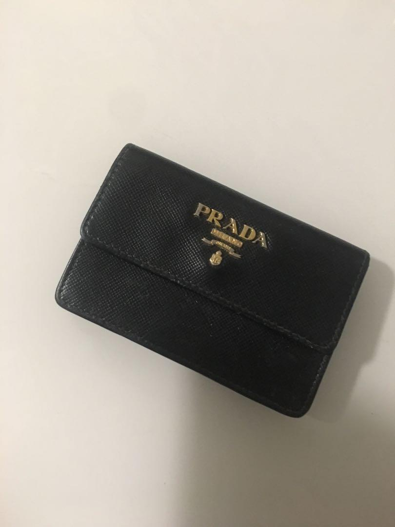 Prada coin purse authentic