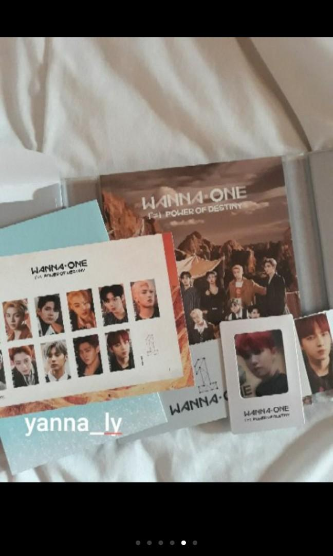 [Pre-Loved] Wanna One Power of Destiny Adventure Version Jaehwan Full set