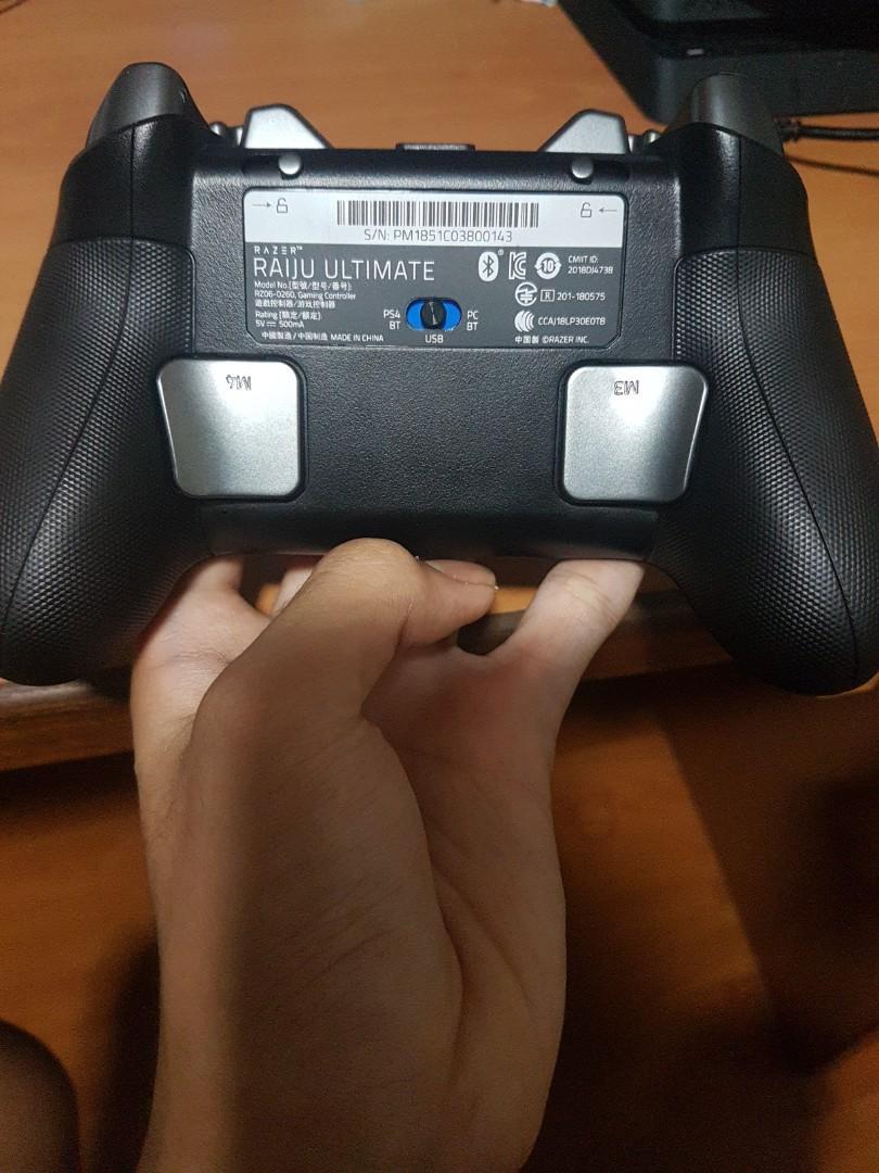 Razer Raiju Ultimate Ps4 Controller