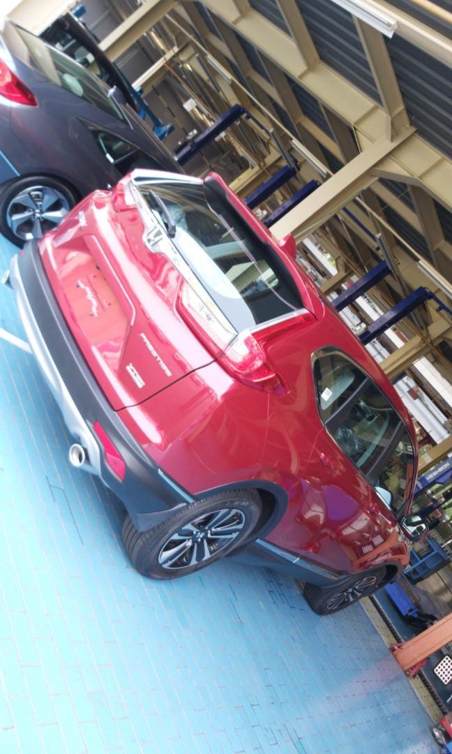 Ready stock Crv 1.5 turbo prestige free 4 tahun jasa service