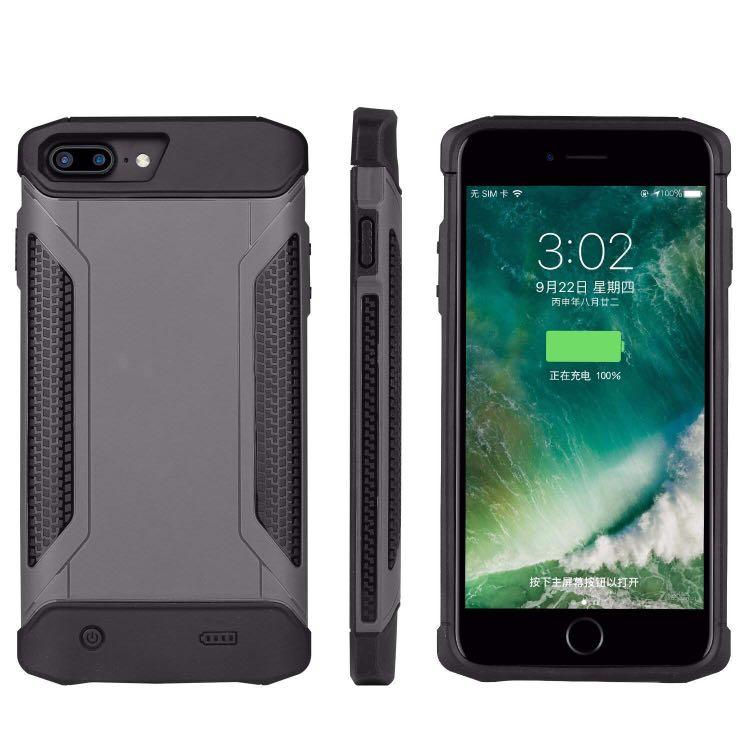 """Rugged Backup Battery Charge Case for iPhone PLUS Models 5.5"""""""
