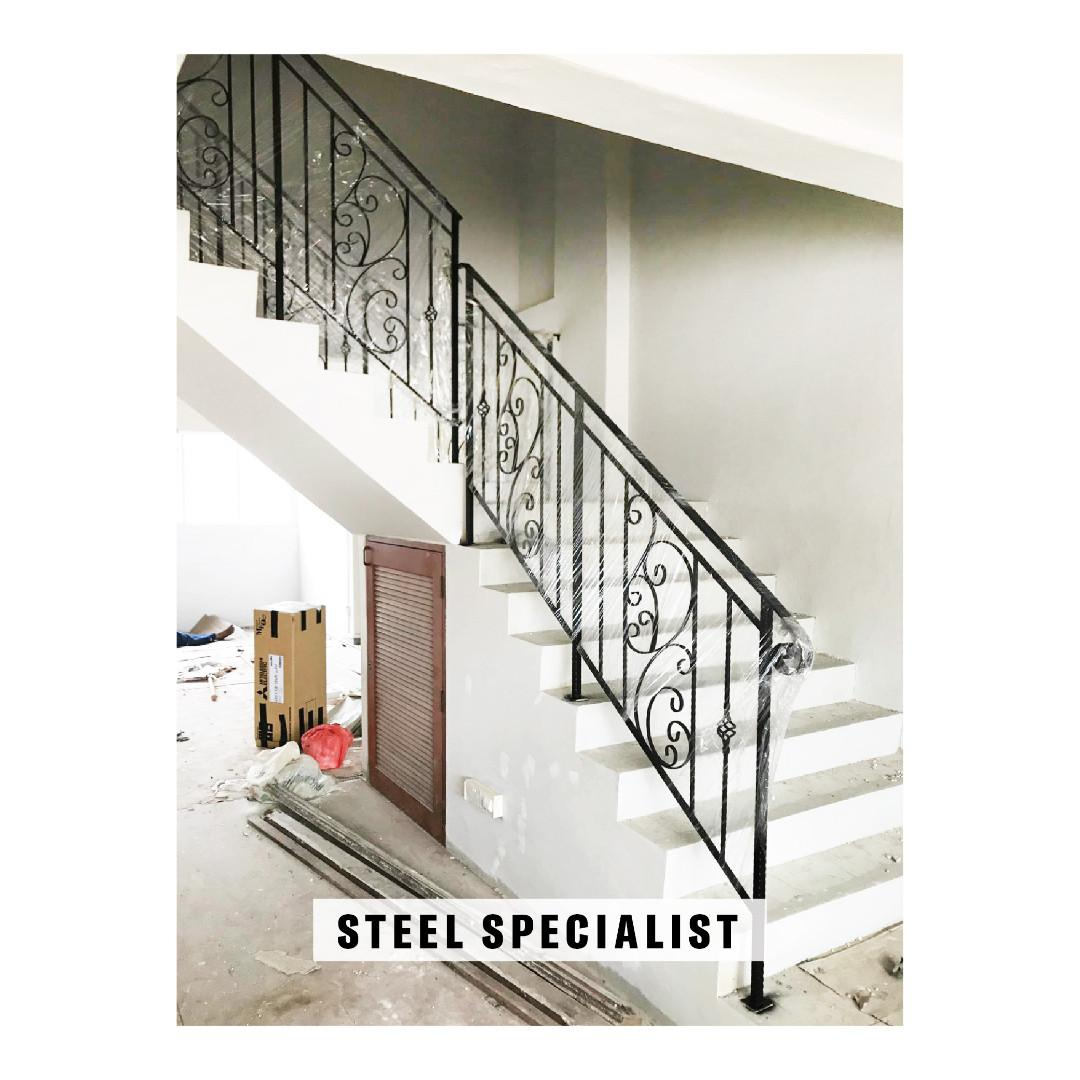 Staircase Railings for Mezzanine
