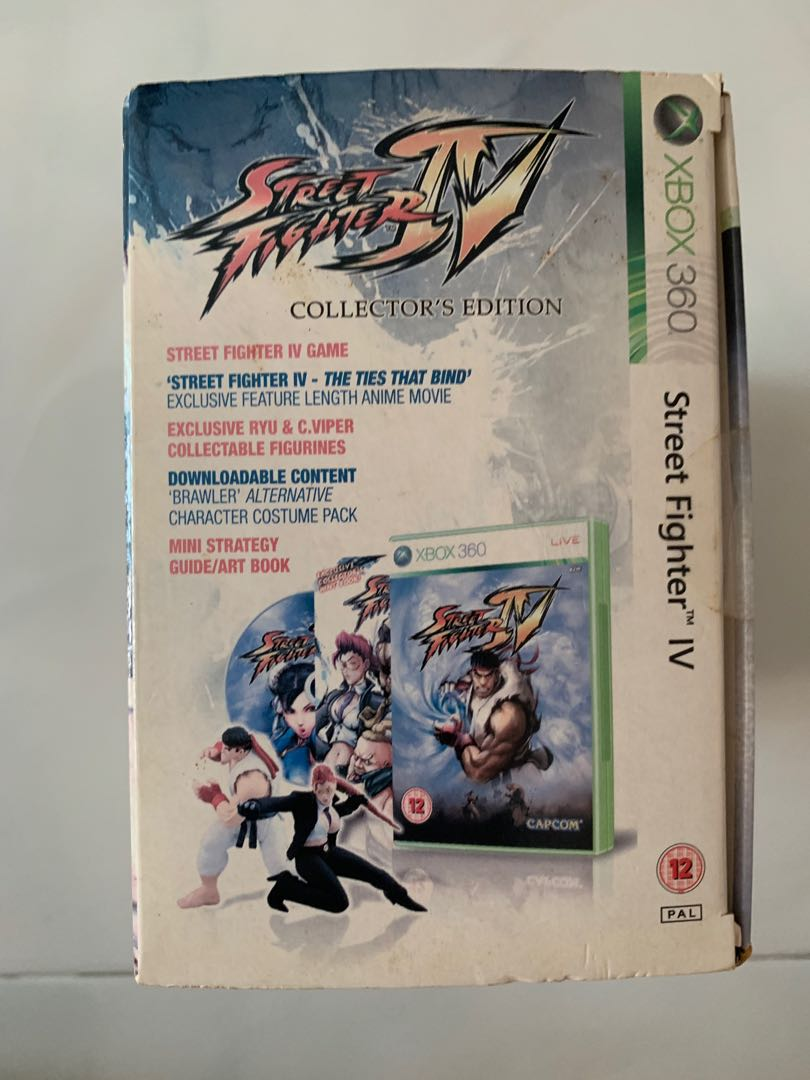 Street Fighter Iv Collector S Edition Toys Games Bricks