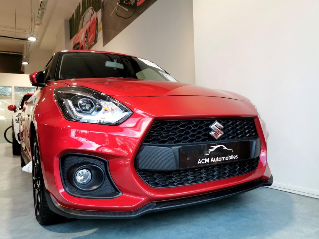 Suzuki Swift sport 1.4 L turbocharged Manual
