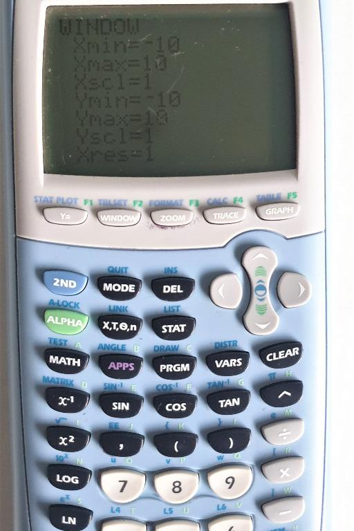Texas Instruments TI-84 Plus Graphics Calculator Blue with User Manual