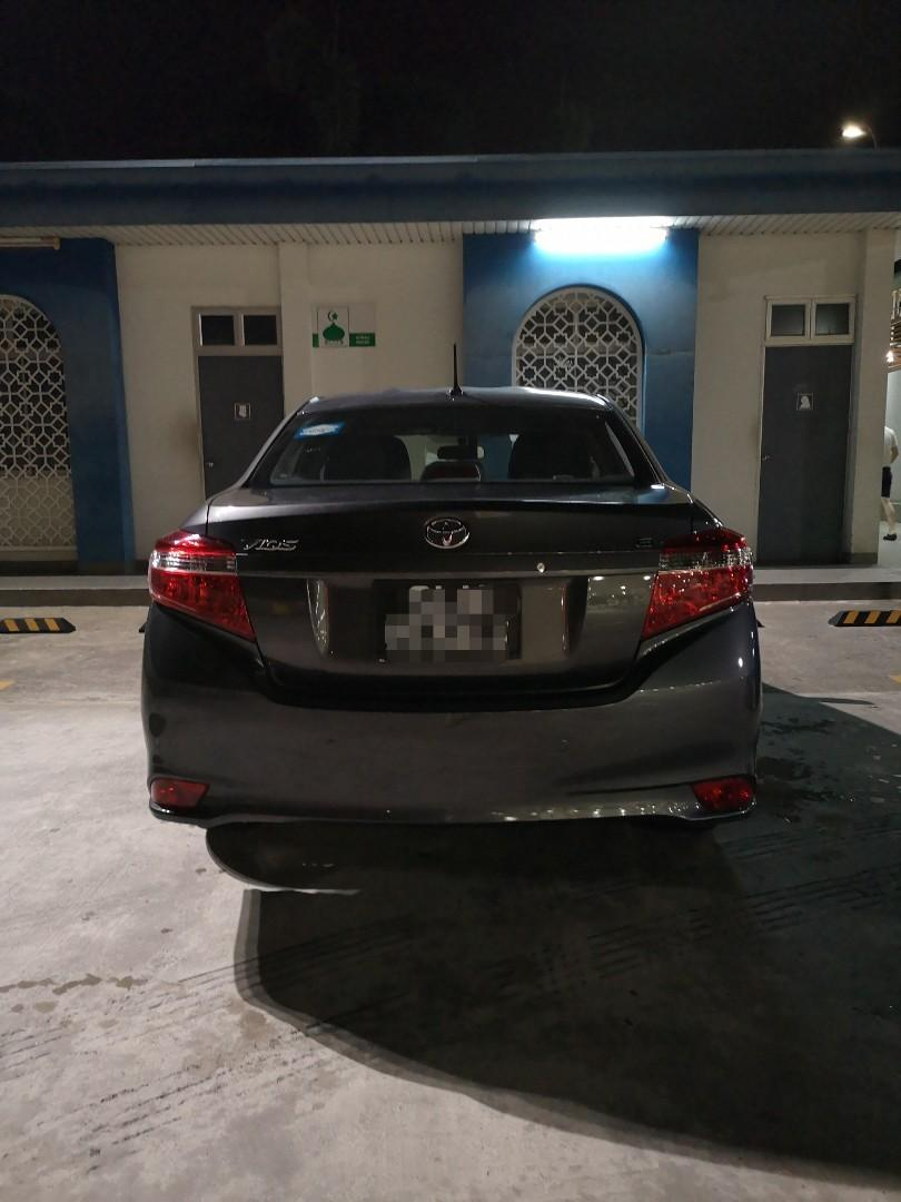Toyota vios for rent (daytime shift)