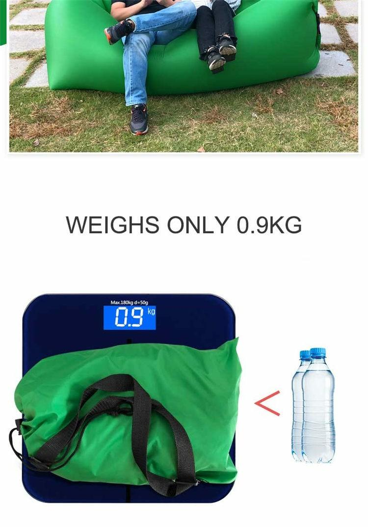 travel camping garden rest comfortable and portable Inflatable sofa bed pillow