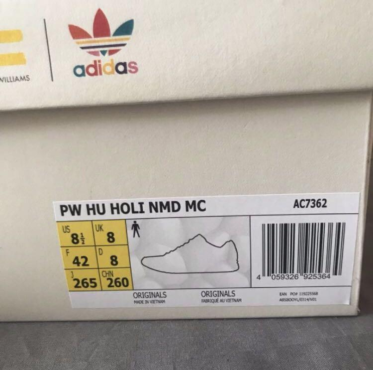 UK8 - Adidas NMD HU Trail