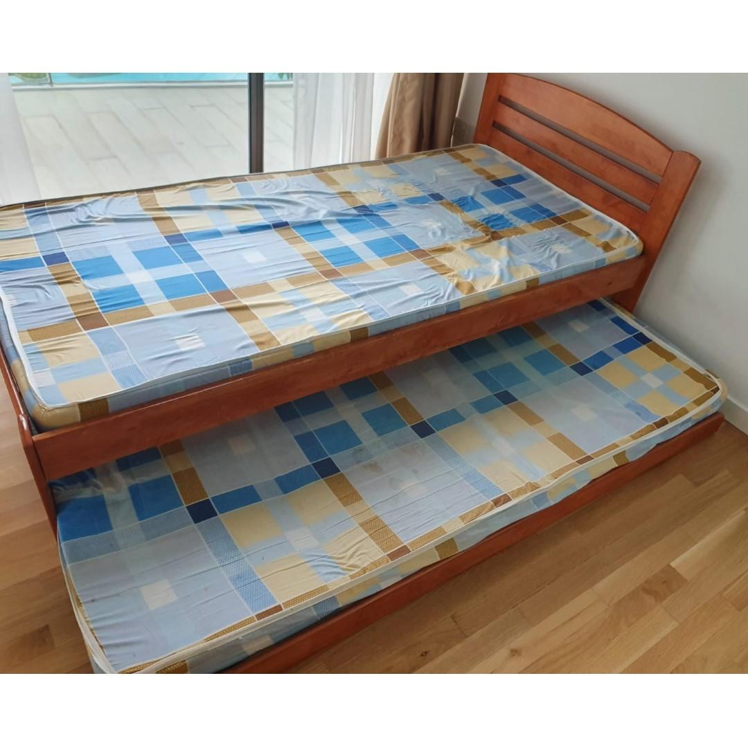 Used bed and Mattress
