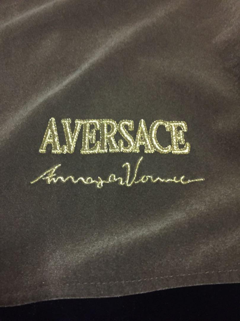 Versace 凡賽斯 古著拼接外套 絕版 正品