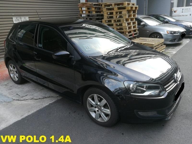 Volkswagen Polo 1.4A (Black)
