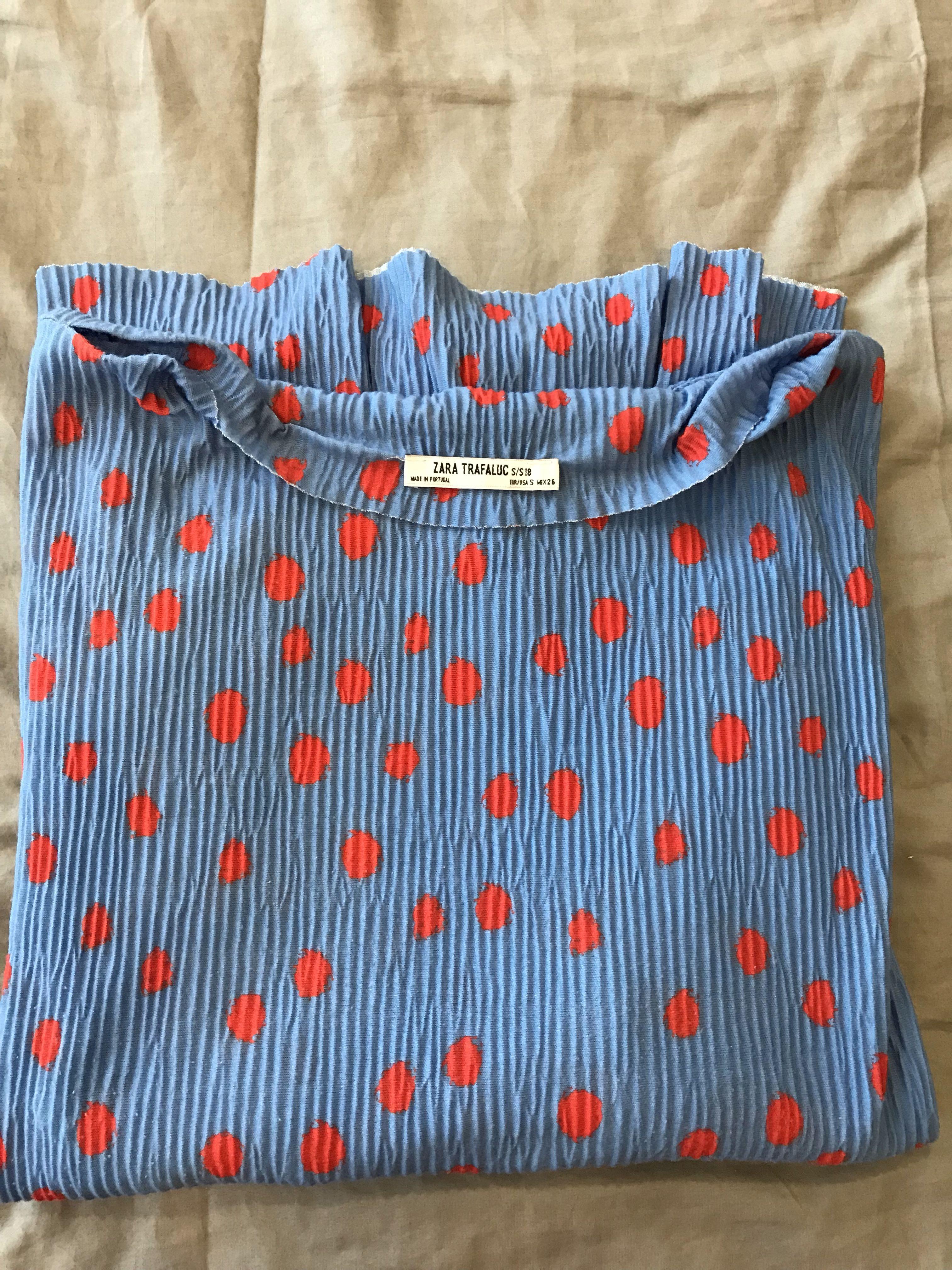 Zara polka dots dress