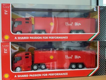 Lego Ferrari & Shell Truck