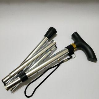 (可議價)折疊手杖 五節拐杖 鋁合金