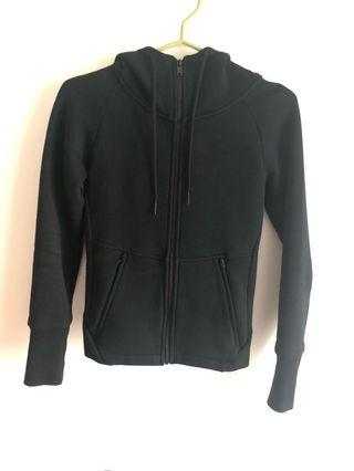 Aritzia community black sweater XXS