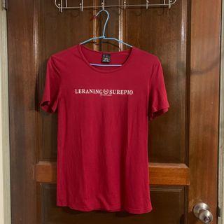 紅色古著T-shirt