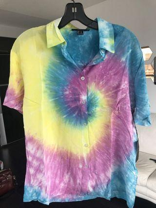 Tie-dye shirt / cover up (on trend rn)