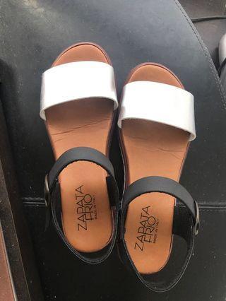 Italian leather sandals (6.5)