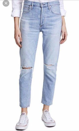 Citizens of Humanity Liya high rise crop fit jeans