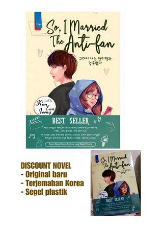 Novel Korea Original Baru