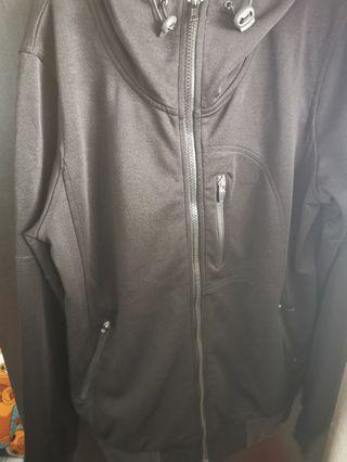 romp jeans jacket black jungle