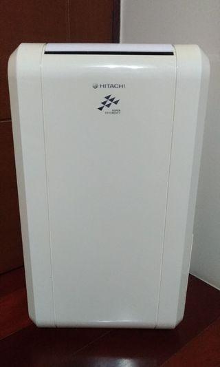 (自有物品)品名:日立HITACHI感溫適濕控制6L除濕機RD-12KE白