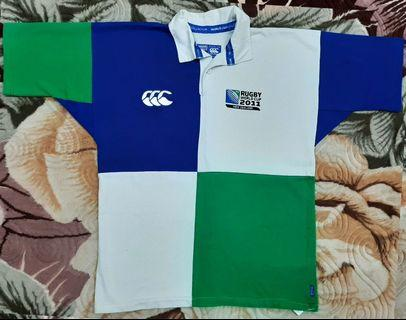 2090eh Rugby World Cup RWC 2011 Polo M Jersey Canterbury CCC