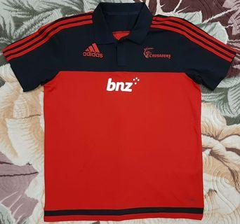 2095gh New Zealand Crusaders Rugby L Jersey Adidas
