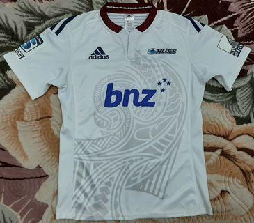 2099hf New Zealand Blues Rugby L Jersey Adidas