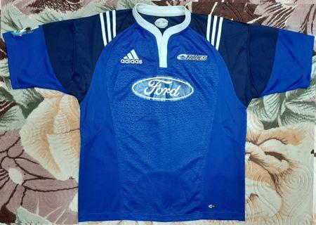 2100hd New Zealand Blues Rugby XL Jersey Adidas