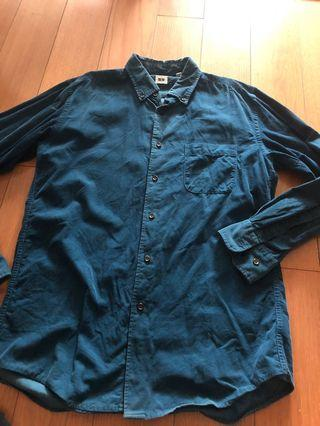 Uniqlo corduroy shirt *020