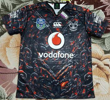 2108ii New Zealand Warriors Rugby 2XL Jersey Canterbury CCC
