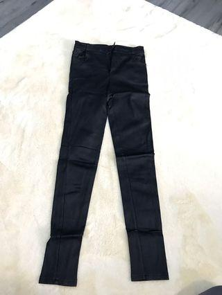 Leather pants for winter