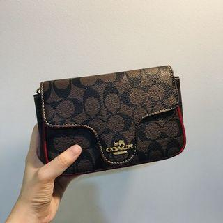 9.9 sale! Coach Women Mini Sling Bag