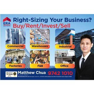 Various Industrial Units Islandwide With Rental Yield For Sale