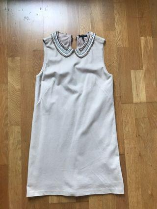 Massimo Dutti Embroidered Dress