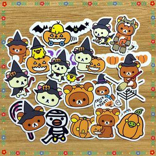 [Limited Edition] Rilakkuma Halloween Scrapbook / Planner Stickers #470