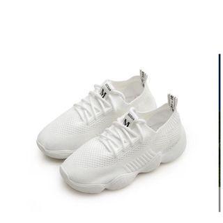 飛織網布老爹鞋