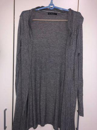 Cotton On Grey Long Cardigan