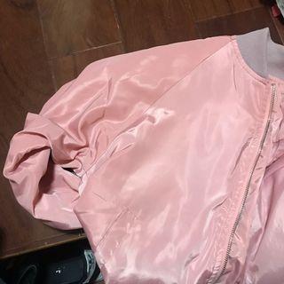 二手-粉色飛行外套