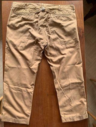 Viscim High Water Chino khaki