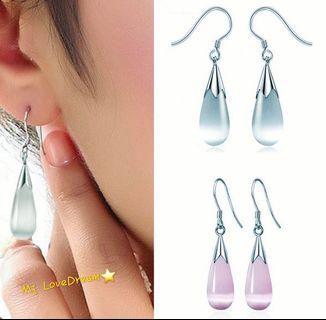 華麗水滴型耳環✨