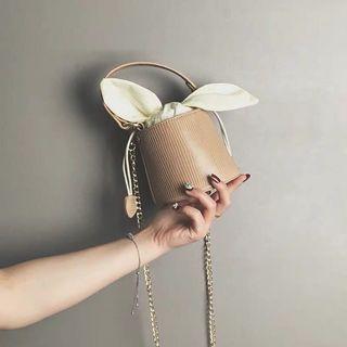 Korean Rabbit Style Bucket Bag