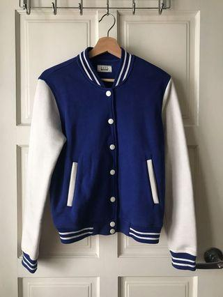 Seed Baseball Jacket (Blue)