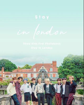 STRAY KIDS 1ST PHOTOBOOK STAY IN LONDON
