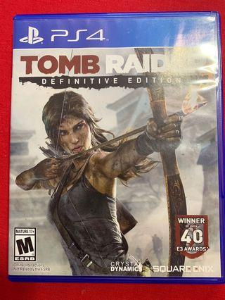 PS4 Tombraider