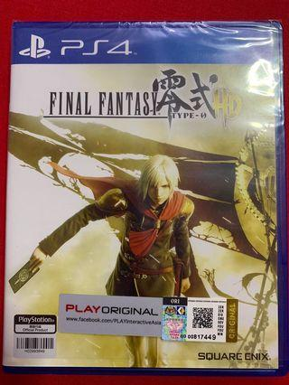 PS4 Final Fantasy type 0