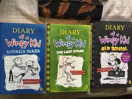 Diary Of A Wimpy Kid - Rodrick Rules, The Last Straw, Old School