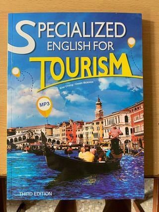 Specialized English for tourism  第三版